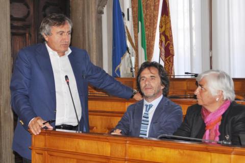 Presentazione di GeoIDS - Il sindaco Luigi Brugnaro